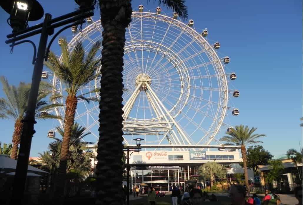 Férias na Disney: Orlando Eye no I-Drive 360