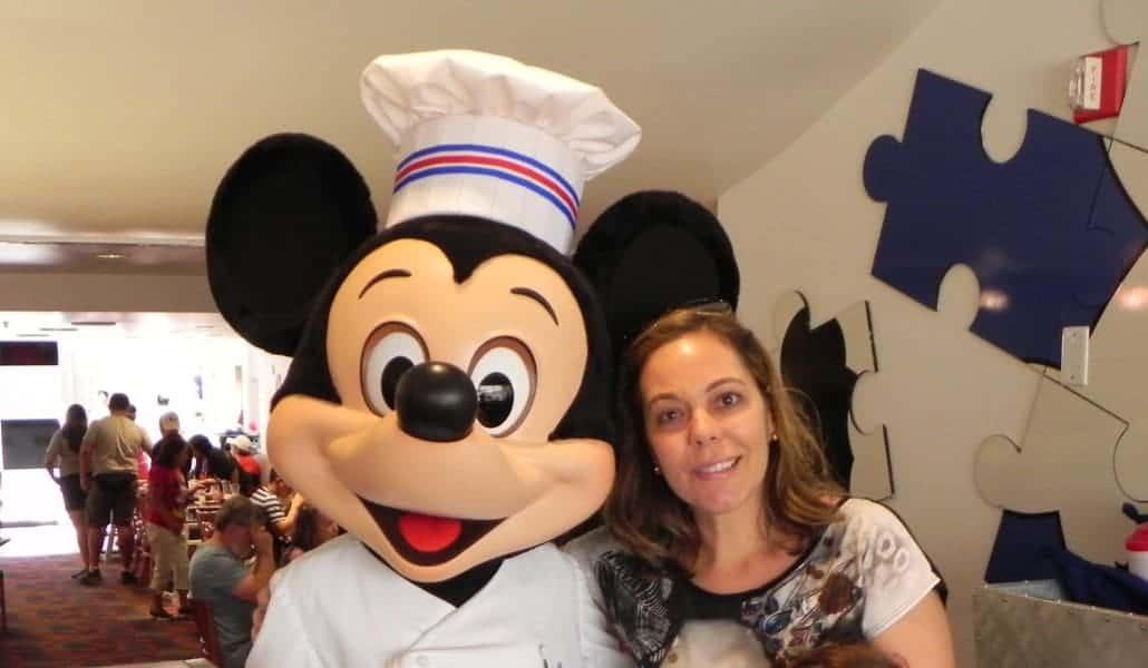 Brunch com a turma do Mickey no Chef Mickey´s!