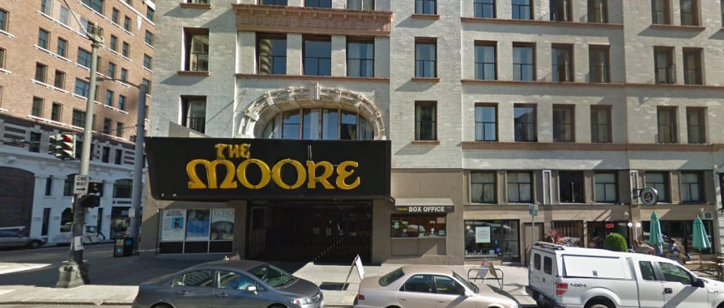 The Moore Theatre em Seattle