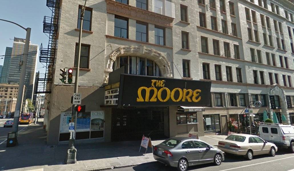 Tour Nirvana em Seattle: The Moore Theatre