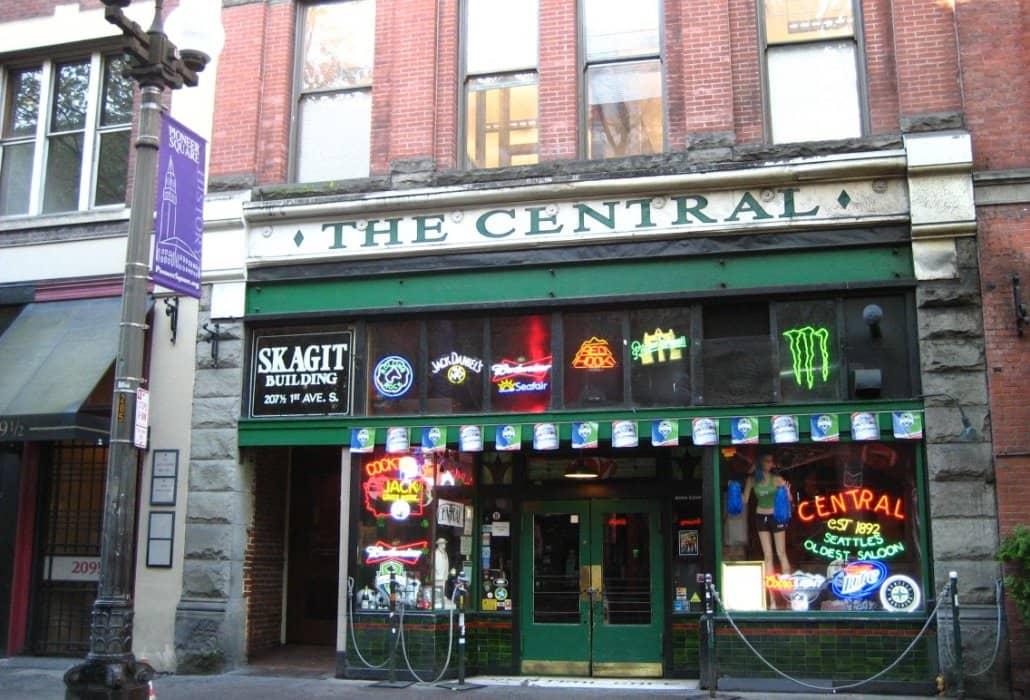 Tour Nirvana em Seattle: The Central Saloon