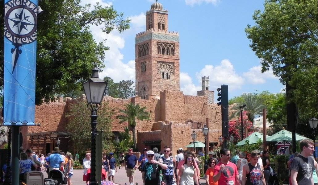 Pavilhão do Marrocos no World Showcase do Epcot