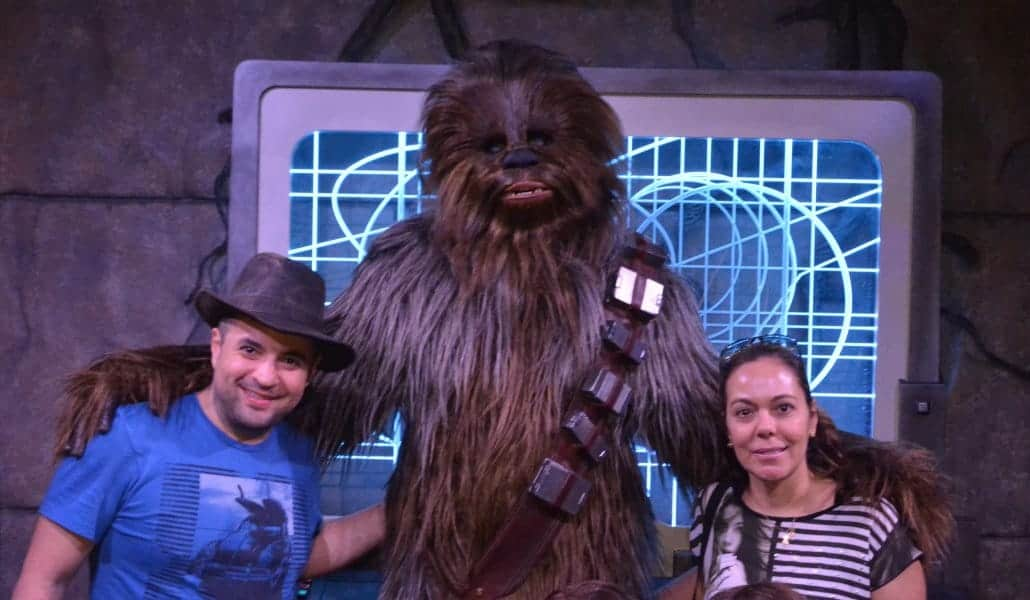 Hollywood Studios: Chewbacca do Star Wars