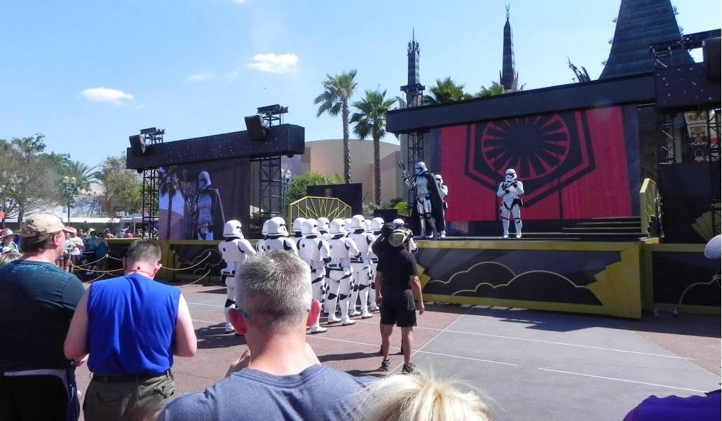 Hollywood Studios: tropa de Stormtrooper do Império do Star Wars
