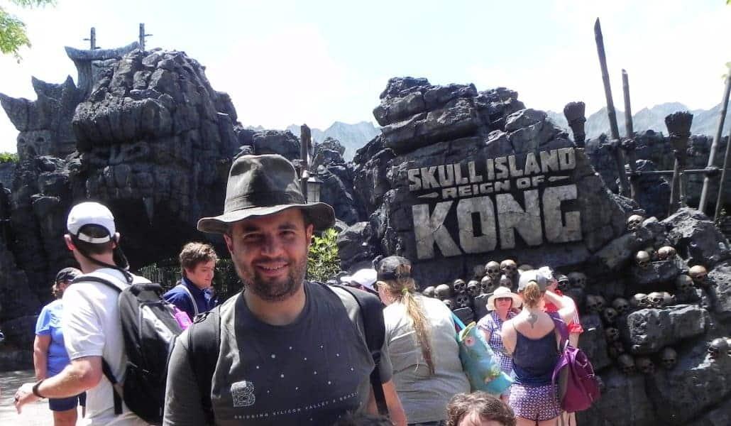 Entrada do simulador do King Kong no Island of Adventure