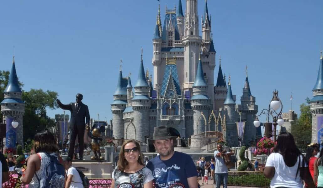 Castelo da Cinderela no Magic Kingdom
