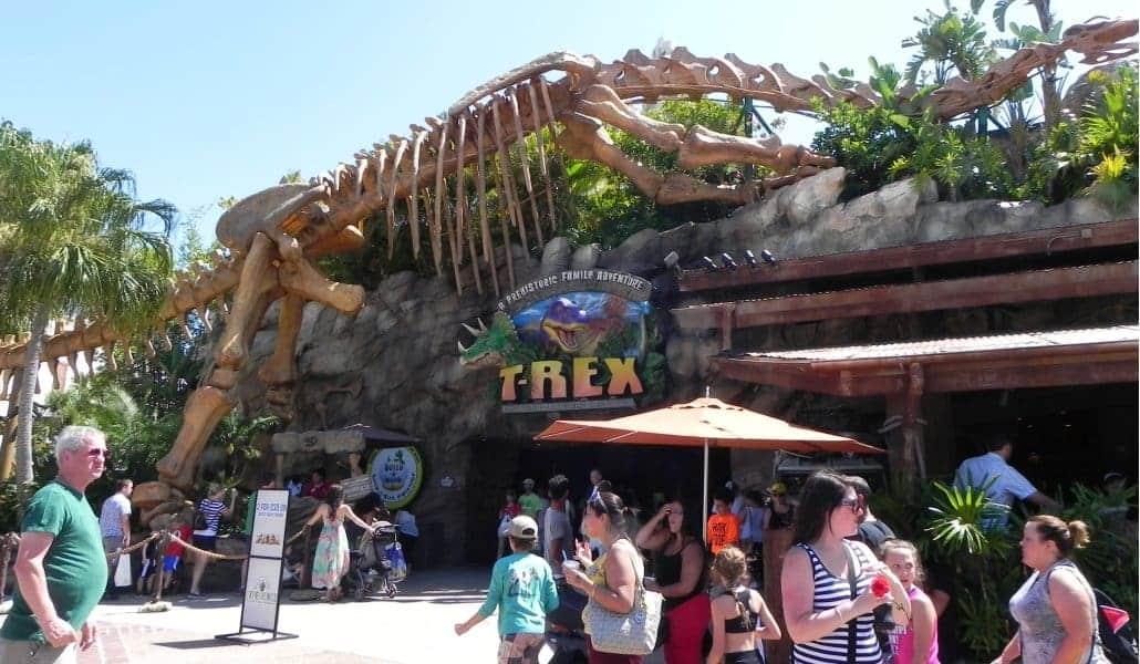 Restaurante T-Rex da Disney Springs em Orlando