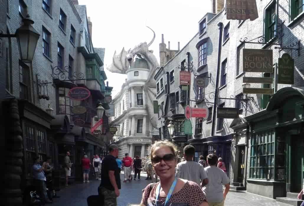 Beco Diagonal do filme Harry Potter no Universal Studios