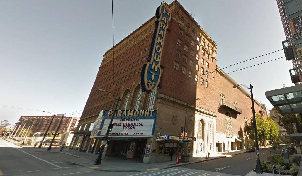 The Paramount Theatre em Seattle
