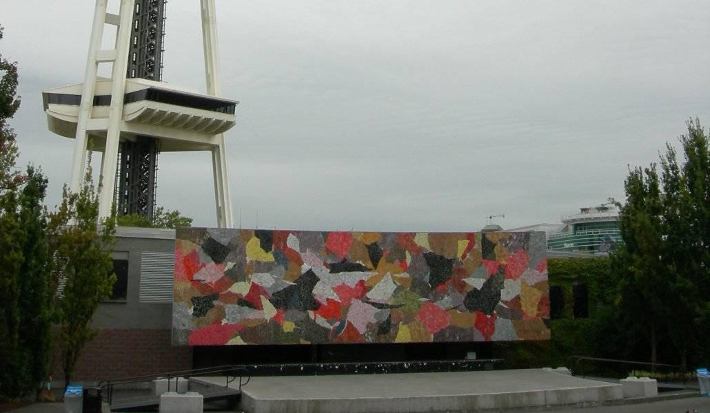 Tour Pearl Jam em Seattle: Mural Amphitheatre no Seattle Center