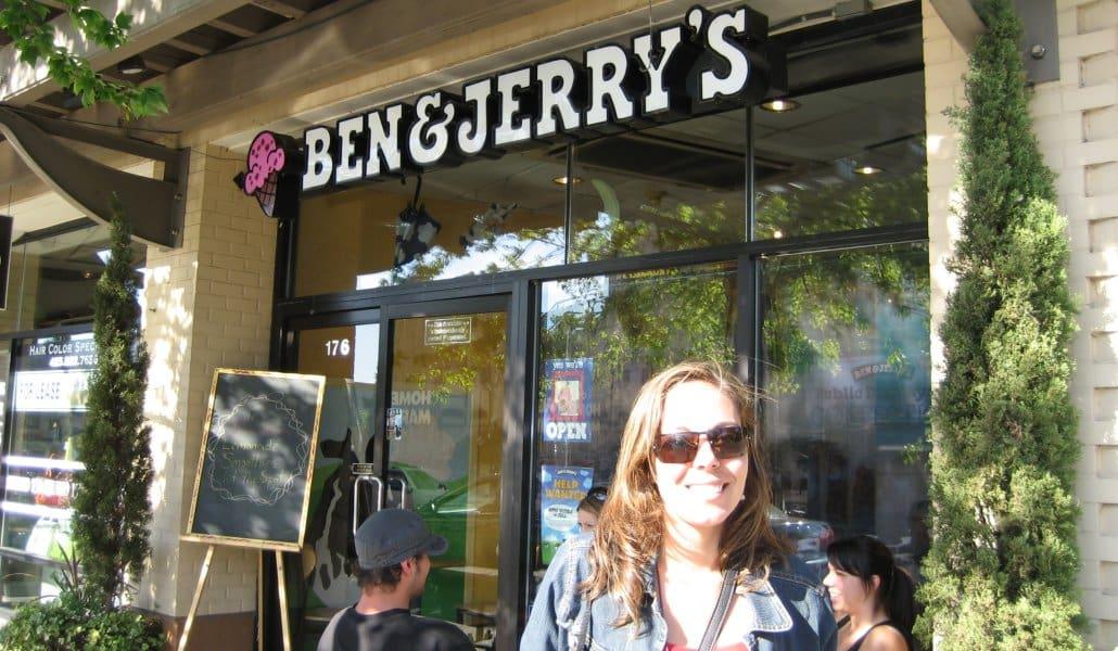 Minha primeira vez na Ben and Jerry's em Seattle (Kirkland)