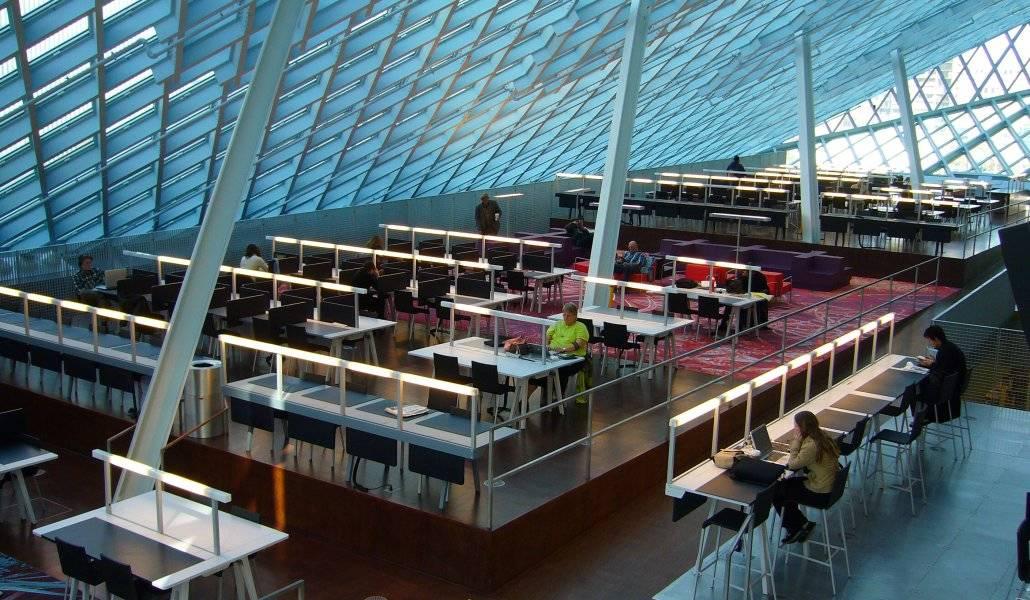 Seattle Public Library é para todos! (Fonte: Blog do Friends of Seattle Public Library)