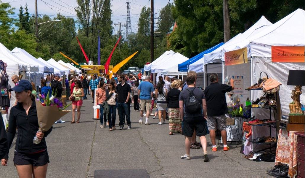 Fremont Sunday Market em Seattle