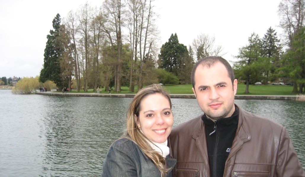 Green Lake Park em Seattle: vai bem também no friozinho!