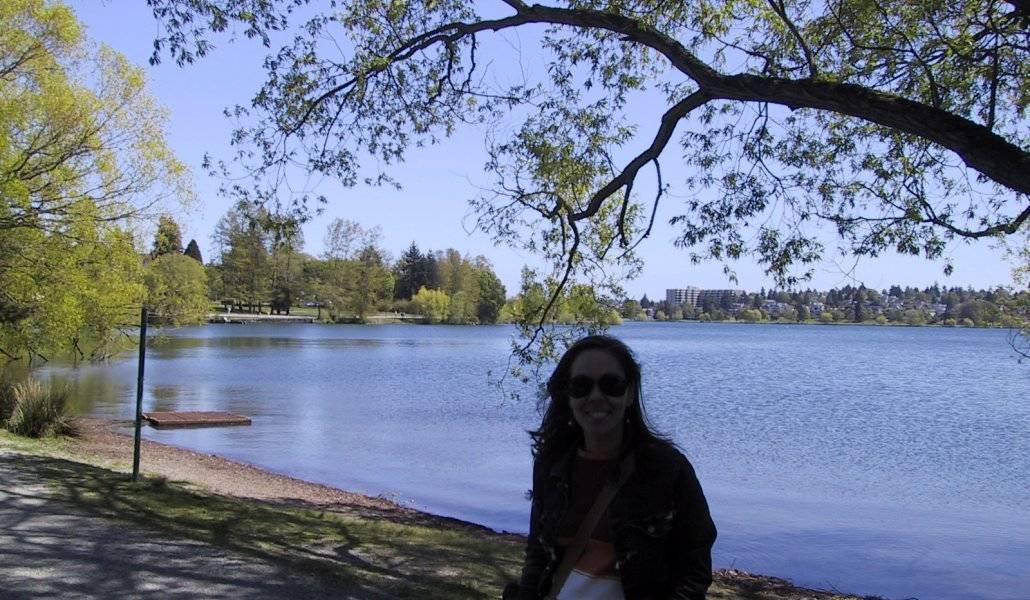 O lago Green Lake em Seattle