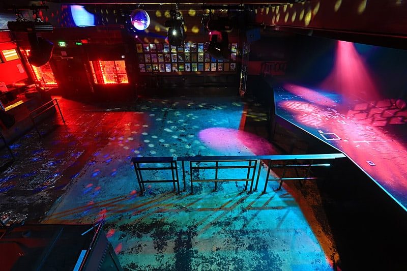 Interior do The Crocodile em Seattle (Fonte: thecrocodile.com)