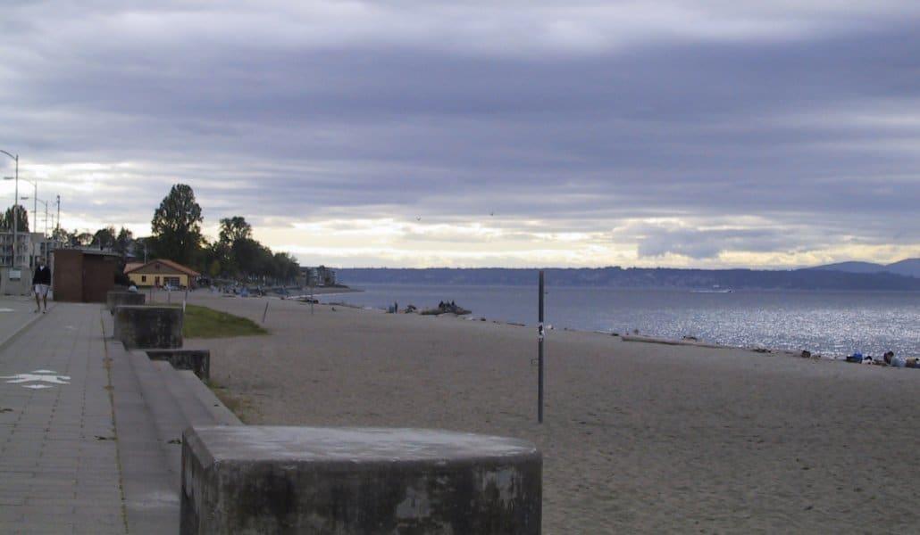 Alki Beach em Seattle