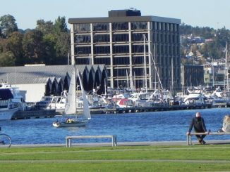 Lake Union Park em Seattle