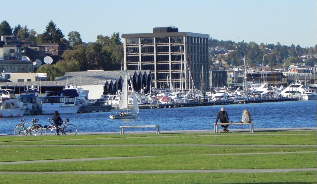 Passeios gratuitos em Seattle: Lake Union Park